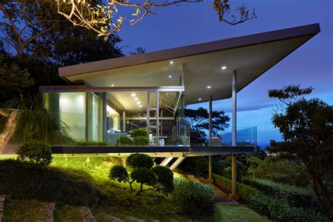 steel and glass house designs steel and glass costa rican home by ca 241 as arquitectos