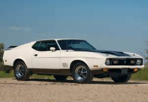 1971 ford mustang mach 1 429 cobra jet specifications