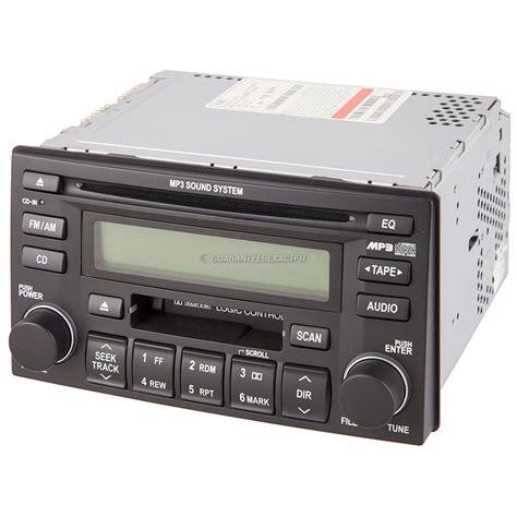 kia sedona radio 2006 kia sedona radio or cd player am fm cass mp3 single