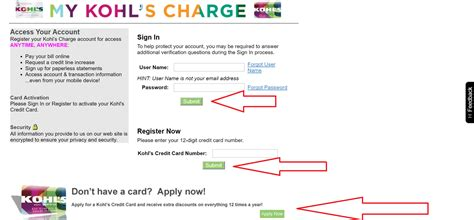 make kohls credit card payment kohls credit card make payment images what mobile
