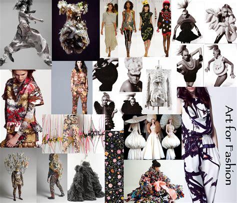 fashion design mood board art for fashion write on trend