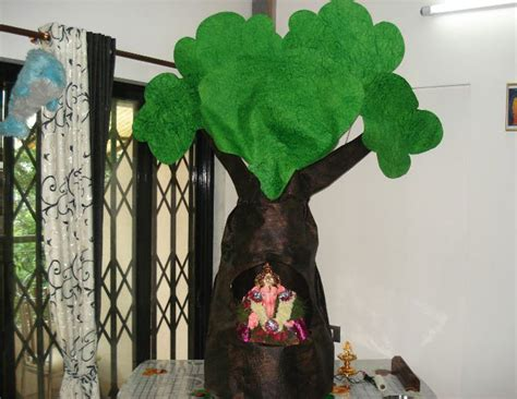 unique decorations for home ganpati decoration ideas for home the royale