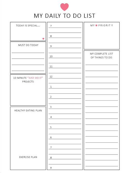 free printable hourly planner pages unavailable listing on etsy