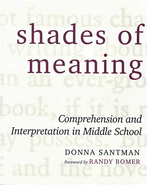 shades of meaning crockett s it s all about the journey understanding nonfiction to