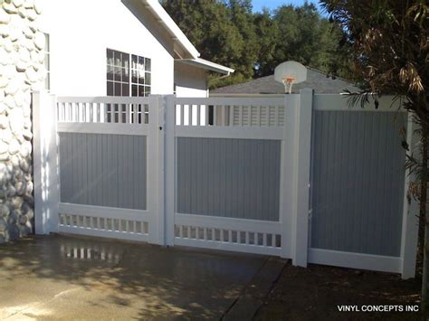 fencing and gates traditional exterior los angeles by vinyl concepts inc