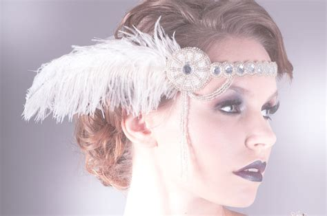 how to make 1920s headpieces 1920s inspired wedding headpiece flapper onewed com