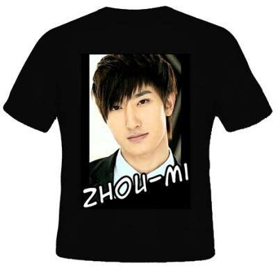 Kaos Korea Suju kaos zhou mi suju kaos premium