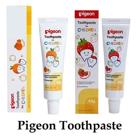 pigeon pasta gigi bayi anak bebas fluoride