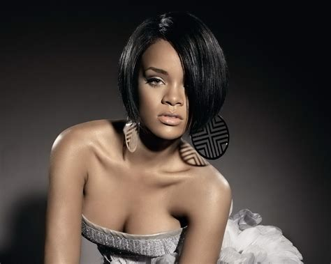 rihanna hairstyles bob haircut makes its debut on ellen todaycom 30 astonishing bob hairstyles for black women creativefan