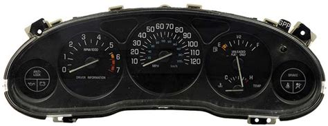 service manual free service manuals online 1998 buick regal instrument cluster service