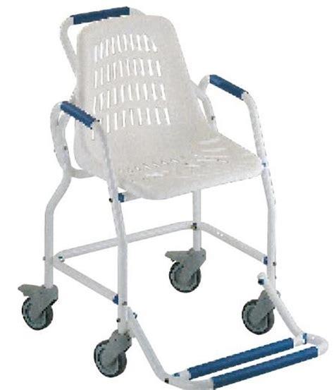 sedie con ruote per disabili sedia per doccia con ruote