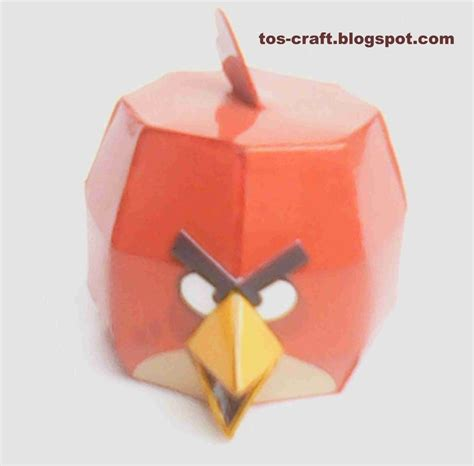 Paper Craft Bird - 39 best images about angry birds papercraft on