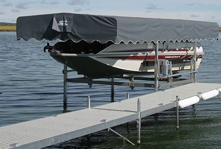 electric boat canopy boat lifts aluminum boat lift cantilever boat lift