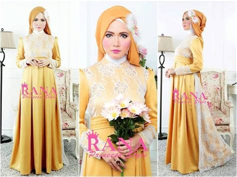 Kinara Dress Busui Friendly pakaian islami abiti moslem style patriana dress gold busui friendly