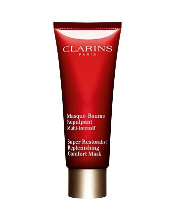 clarins super restorative replenishing comfort mask review clarins super restorative replenishing comfort mask