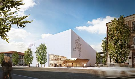 Drawing Center by Modern Museum Vilnius Libeskind