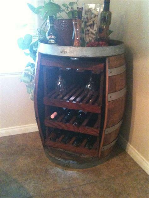 Wine Rack Barrel by Wine Barrel Wine Rack