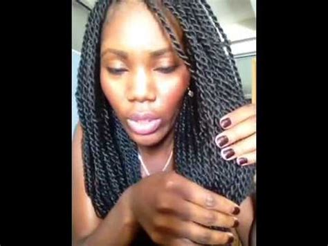 best hair to use for sengelease twist hair review senegalese twists take 2 youtube