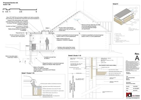 section drawing exles exle construction drawings robin designs ltd