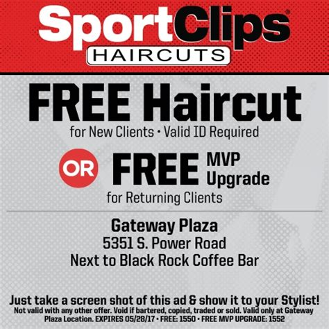 mvp haircuts coupons new client offer haircutmengatewayplazamesaaz com