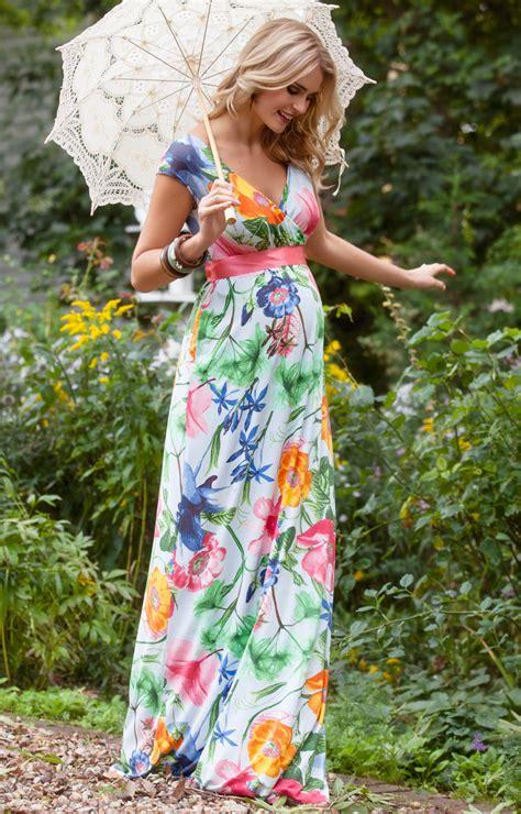 Alana Maxi Maternity Dress Hawaiian Breeze   Maternity Wedding Dresses, Evening Wear and Party
