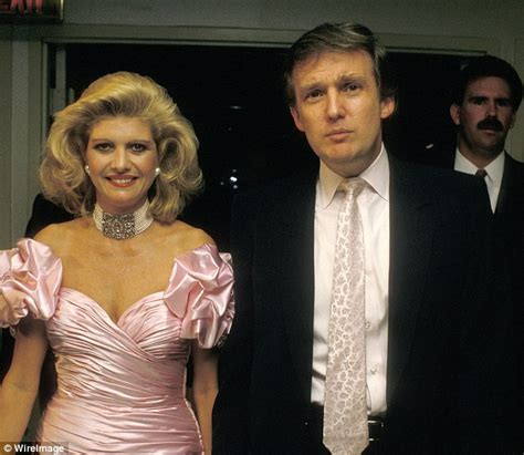 donald trump first wife president donald trump and ivana trump wedding story