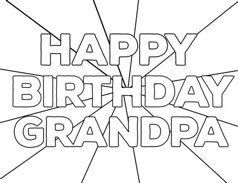 happy coloring pages free printable happy birthday coloring pages paper trail