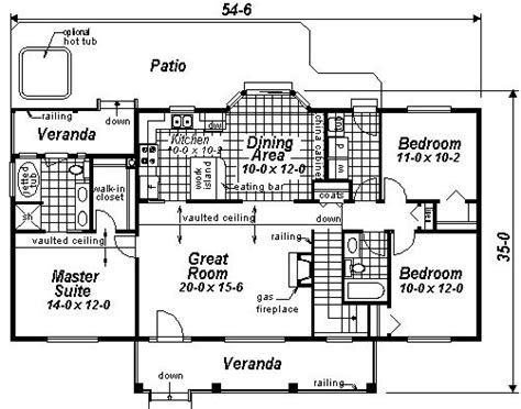Simple Rectangular House Plans by Simple Rectangular Floor Plans 0 Ranch House Country