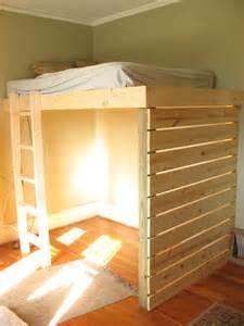 Loft Bed Railing Micmac Interiors Loft Bed