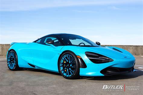 Mclaren 720s Blue by Gucci Mane S Mclaren 720s On Forgiato Tecnica Series Wheels