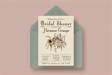 bridal shower card template crab 90 gorgeous wedding invitation templates design shack