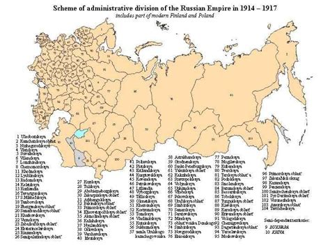 russia map before and after russian administrative boundaries
