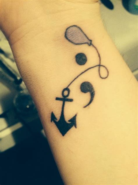 good wrist tattoo ideas 20 semicolon tattoos