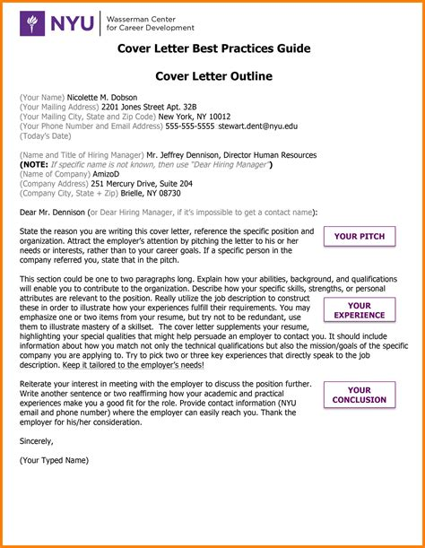 Cover Letter Tips by 5 Cover Letter Guide Protect Letters