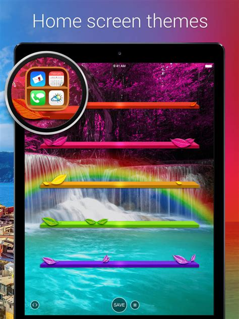 themes app for mi pad pimp your screen custom themes wallpapers on the app store