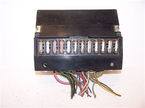 vw bug fuse box