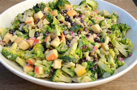 salad recipes broccoli crunch salad recipe pamela salzman recipes