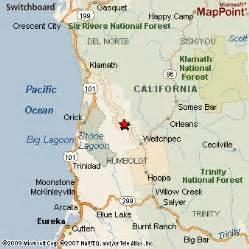 hoopa california map hoopa valley indian reservation california