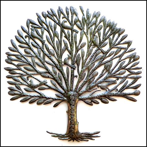 metal art metal wall art tree metal tree wall hanging