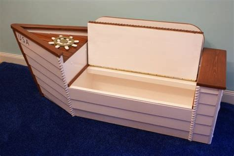 boat dog bed with anchor toy toy box toy chest nautical nursery boat bench toy boat