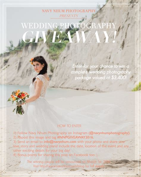 posts tagged quot wedding photography giveaway quot 187 toronto - Wedding Photography Giveaway