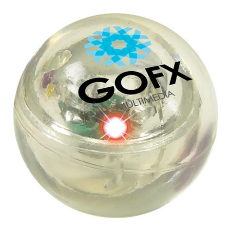 light up bouncy ball printed rubber balls that light up for a fun promotional