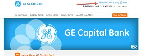 ge capital bank ge capital bank banking login cc bank