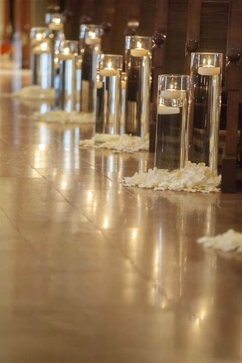 wedding church candles