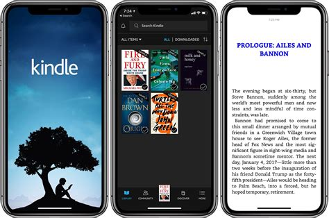 amazon iphone x amazon updates kindle for ios with iphone x and 10 5 quot ipad