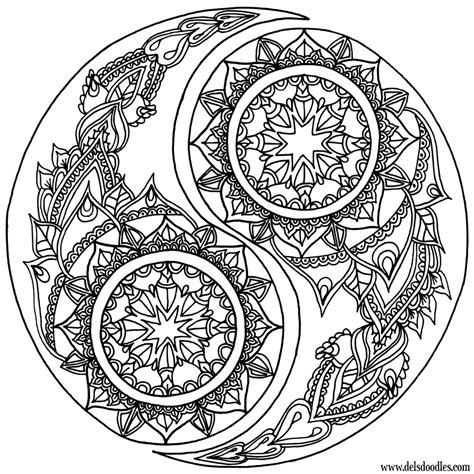 yin yang coloring book pages yin yang coloring page by welshpixie on deviantart