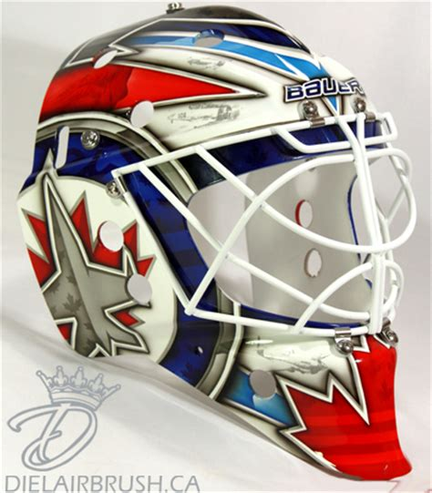 design goalie helmet hbd masks 2014 15 masks part 2 hockey by design