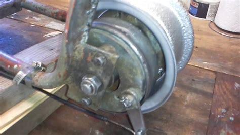doodlebug hydraulic brake mini bike rear drum