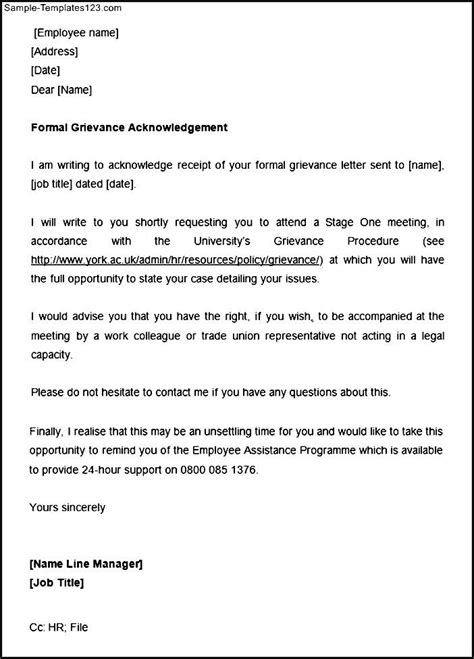 Acknowledgement Letter Sle Format letter of acknowledgement template 28 images 32