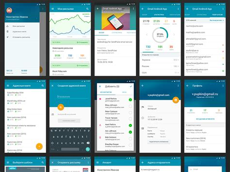 android design android app ui uplabs